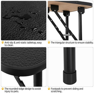Yaheetech Dog Grooming Table 32 Inch