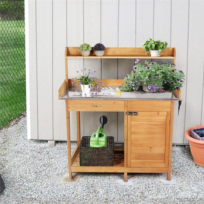 Yaheetech Garden Potting Bench Table