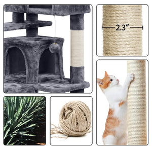 Yaheetech Cat Tree 51 Inch