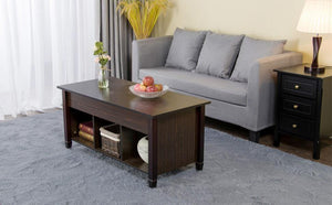 Lift Top Coffee Table with Hidden Storage Compartment
