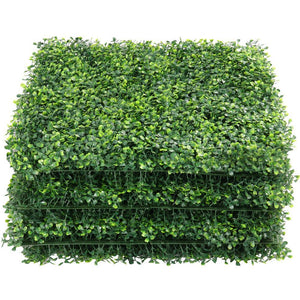 "Yaheetech Artificial Boxwood 20"" x 20"" 6 pcs"