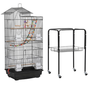 Yaheetech 62.4-inch Parrot Cage with Stand
