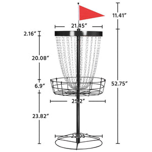 24-Chain Disc Golf Basket