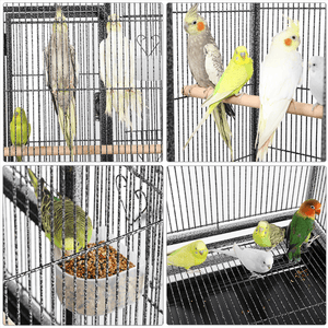 Yaheetech 53.7-inch Large Parrot Cage with Stand