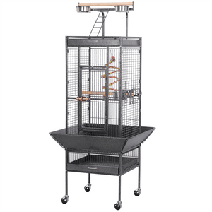 Yaheetech 61-inch Parrot Cage with Play Top