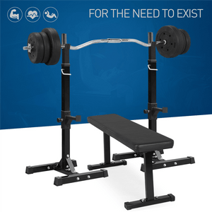2pcs Adjustable Squat Rack