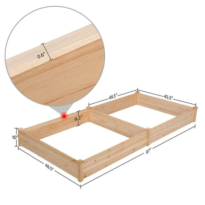 Yaheetech Garden Bed Wooden