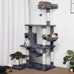 Yaheetech Cat Tree 61.5 Inch