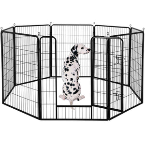 Yaheetech Dog Pen 8 Panels 40 Inch