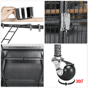 Yaheetech 68.5-inch Parrot Cage with Playtop