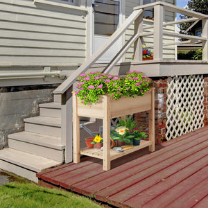 Yaheetech Wooden Raised Garden Bed