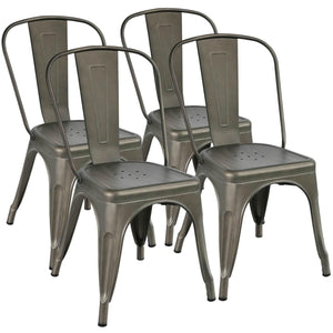 18 Inch Metal Dining Chair