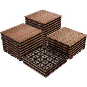27pcs Wood Flooring Tiles