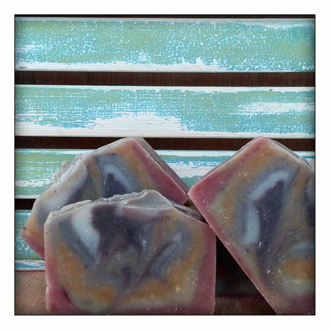 Natural Aromatherapy Soap. Happy Hippy