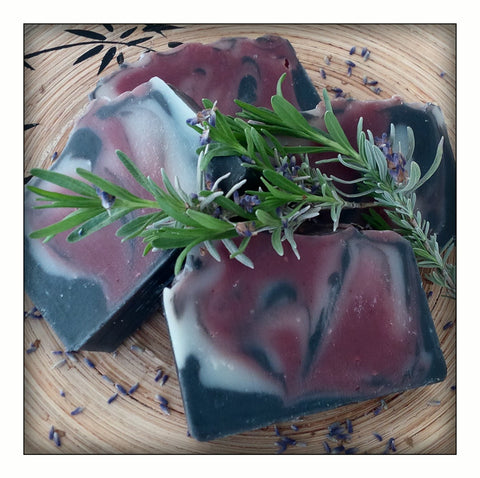 Natural Aromatherapy Soap. Sexy Lavender