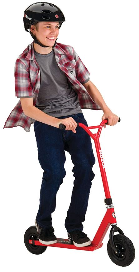 Razor Pro RDS Dirt Scooter - Red - FFP - Red Frog Deals