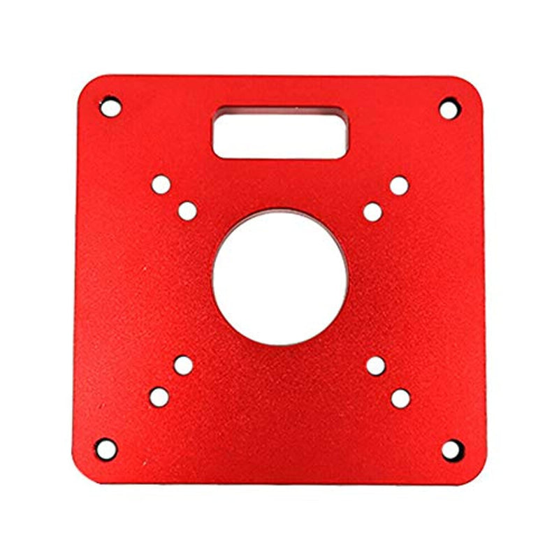 Acxico 1Pcs Universal RT0700C Aluminum Router Table Insert Plate Trimming Machine Flip Board For Woodworking Benches Router Table Plate - Red Frog Deals