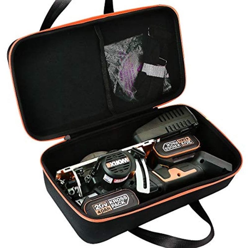 "Aenllosi Hard Storage Case for Worx WX531L Worxsaw 20V PowerShare 4-1/2"" Brushless Cordless Compact Circular Saw - Red Frog Deals"