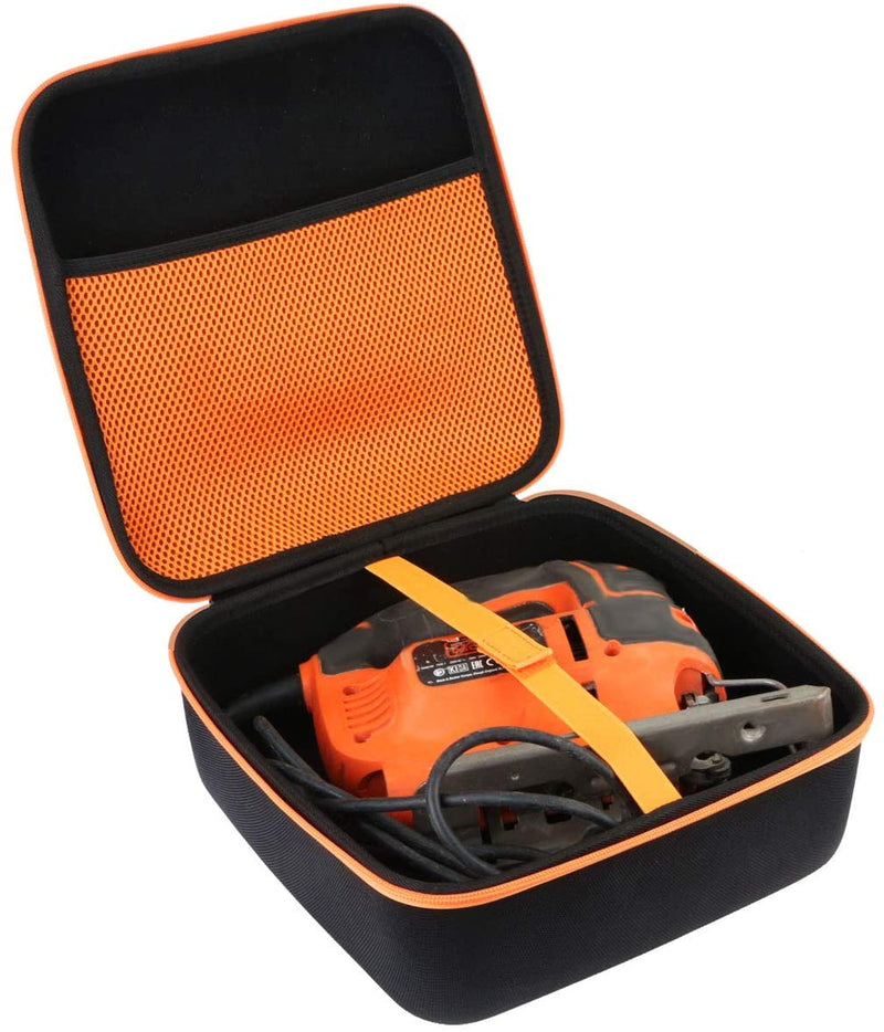 Aenllosi Hard Carrying Case Compatible with BLACK+DECKER Jig Saw 5.0-Amp BDEJS600C - Red Frog Deals