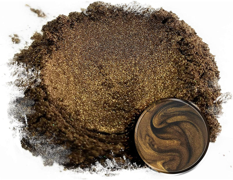 "Eye Candy Mica Powder Pigment ""Bushido Brown"" (50g) Multipurpose DIY Arts and Crafts Additive 