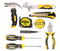 DOWELL 10 Piece Small Tool Kit,Mini Portable Tool Set
