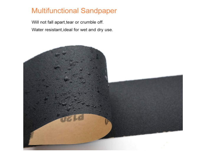 36PCS Sandpaper, Premium Wet Dry Waterproof Sand Paper, 400 to 3000 Assorted Grit