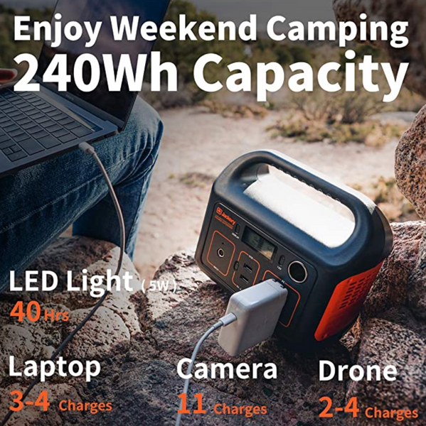 Portable Power Station, Electricity for Outdoors Camping Travel Hunting Emergency - Red Frog Deals