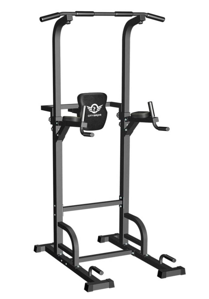 Pull Up Bar for Home Gym Strength Training Workout Equipment, Dip Station 400LBS. - Red Frog Deals
