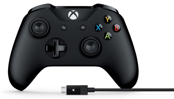 Microsoft Xbox One Wireless Controller + USB Cable for Windows 10 4N6-00001 - Red Frog Deals