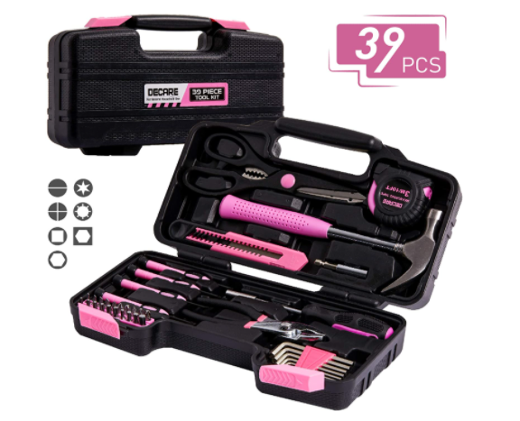 Tool Kit DeCare 39 PCS Tool Set - Home Hand Tool Kit
