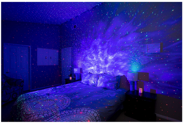 Laser Projector LED Nebula Cloud for Bedroom, Home Theatre, Night Light - Red Frog Deals