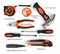 Ditole Tool Set, Hand Set with Storage Case, Home Repair Kit