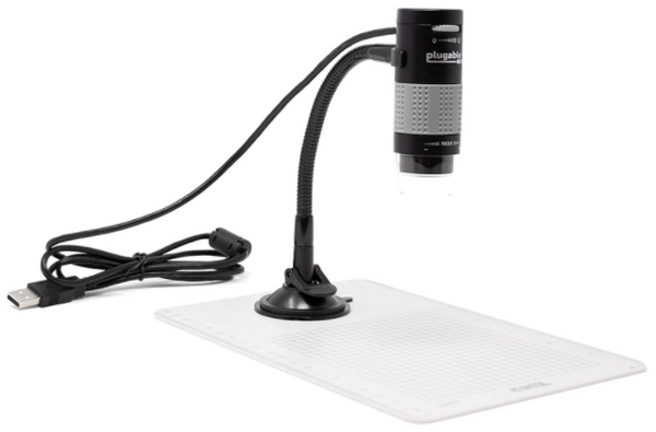 USB Digital Microscope with Flexible Arm Observation Stand - Red Frog Deals