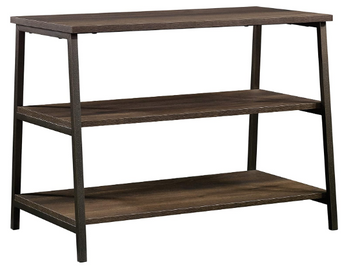Beautiful Sturdy Smoked Oak Stand For TVs up to 36