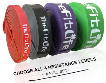 Resistance Pull Up Bands Workout Loop Bands Full Set Home Fitness Training