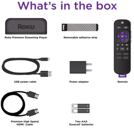 Roku Streaming Media Player Remote Premium HDMI Cable - Red Frog Deals