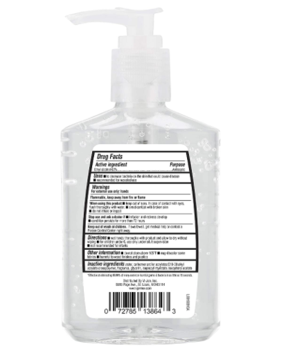Hand Sanitizer, Original with Pump Pack of 12 96 FL Oz - Red Frog Deals