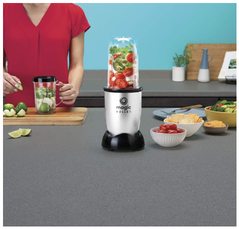 Countertop Blender, Small, Silver, 11 Piece Set - Red Frog Deals