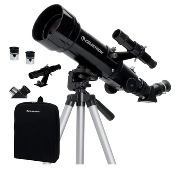 Glass Optics 70mm Travel Scope Portable Refractor Telescope Ideal Telescope - Red Frog Deals