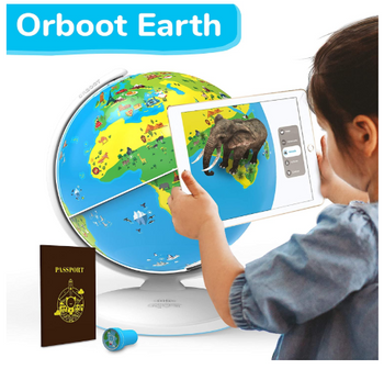 Augmented Reality Interactive Globe For Kids, Stem Toy For Boys & Girls Ages Educational Toy Gift Orboot