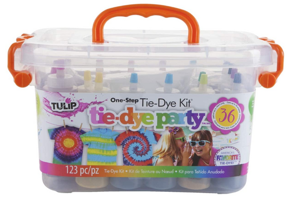 All-in-1 DIY Fashion Dye Kit, Rainbow, One-Step Tie-Dye Kit Party Creative Group Activities