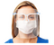 The Essential Goods Reusable Safety Face Shields With 1 Pair Reusable Glasses For Men & Women