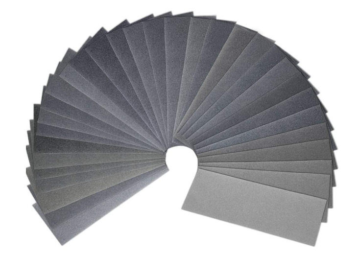 Wet Dry Sandpaper Assortment 46 Pack 120 to 7000 Sand Paper Assorted Grit 9 x 3.6 Inches