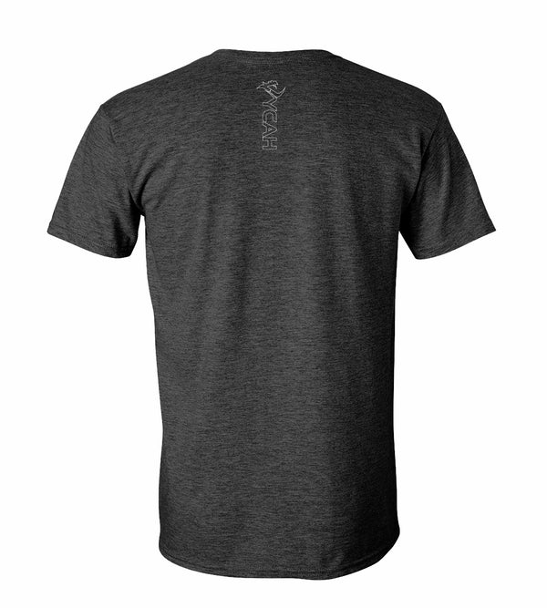 Vycah Short Sleeve Tee - Heather Dark Gray
