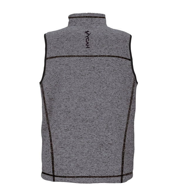 Vycah Gray Seeker Vest Back View