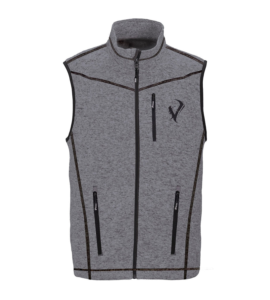 Vycah Gray Seeker Vest Front View