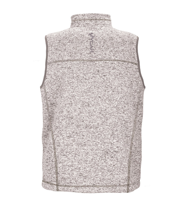 Vycah Oatmeal Seeker Vest Back View