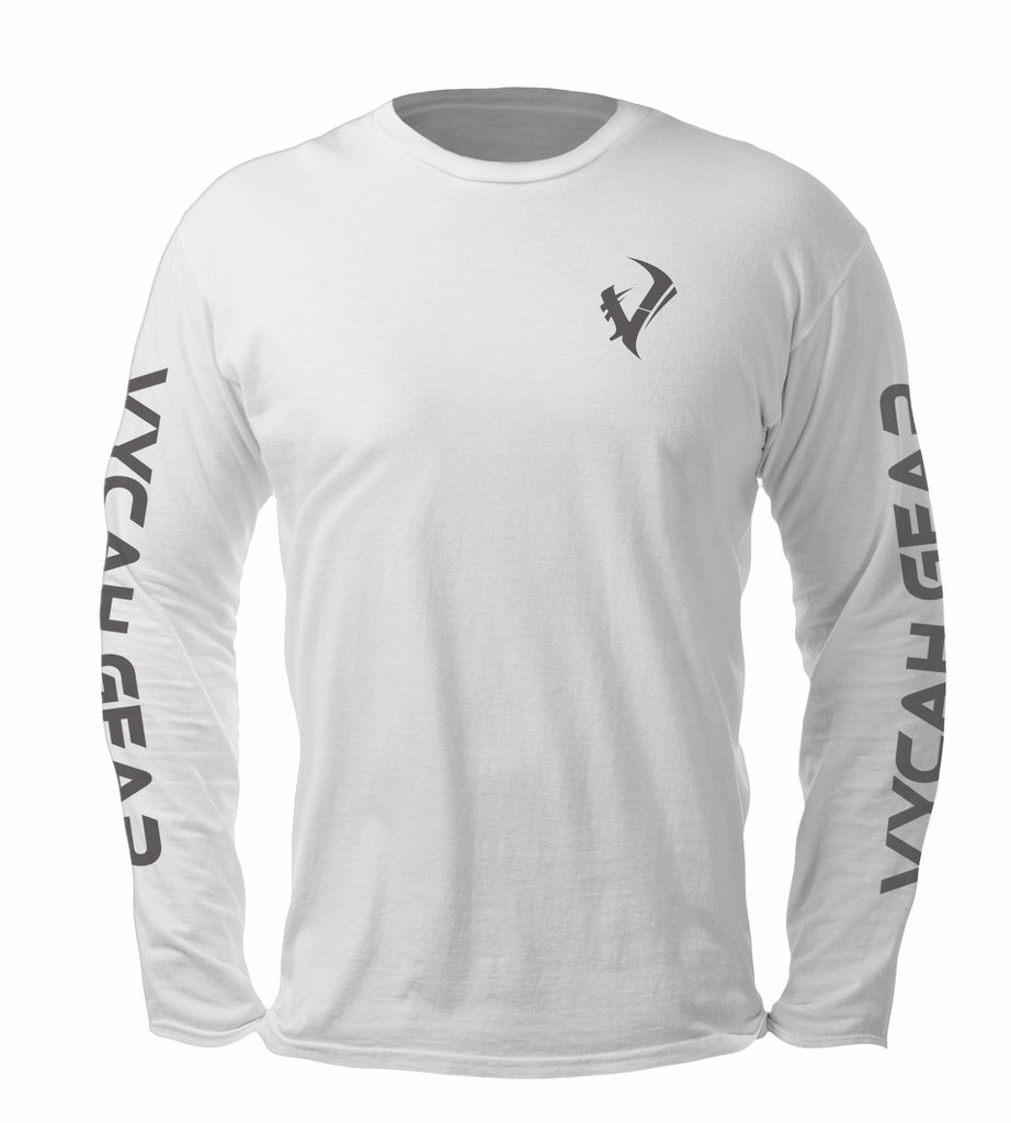 Vycah Long Sleeve Tee - White