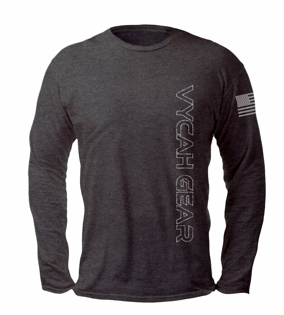 Vycah Freedom Tee - Dark Heather Gray