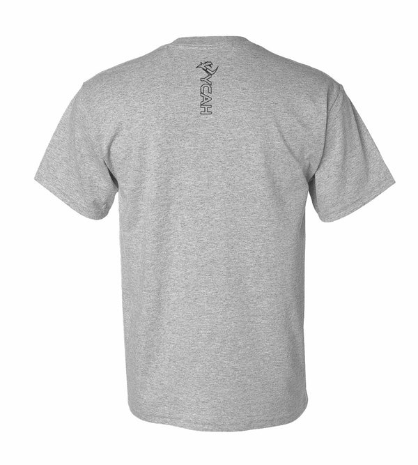 Vycah Short Sleeve Tee - Heather Gray
